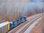 CSX 8552 and 8732